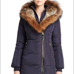 Mackage Long Heavy Jacket amazing Fur!
